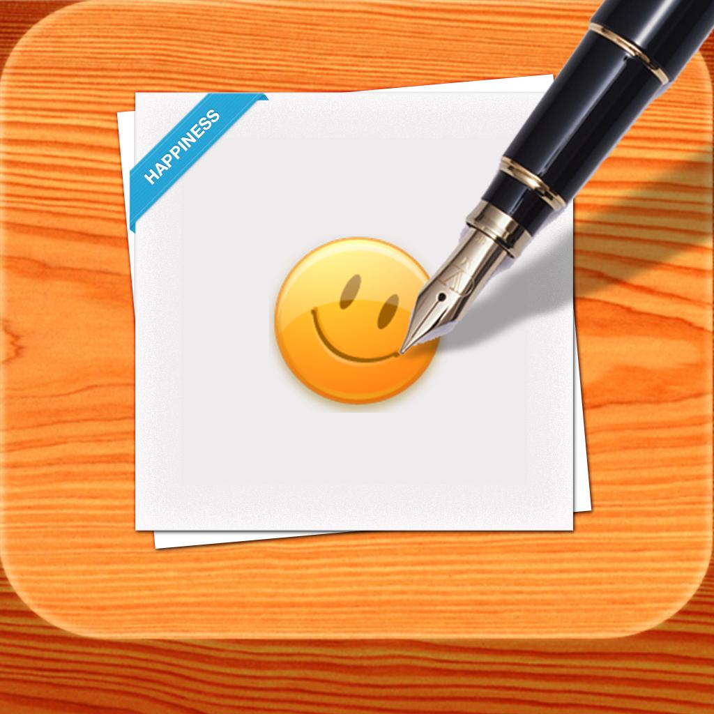 ポジティブ思考習慣 Happynote